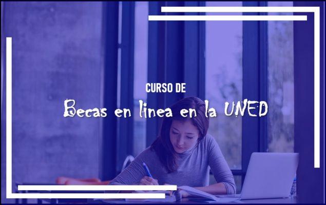 becas en línea en la UNED